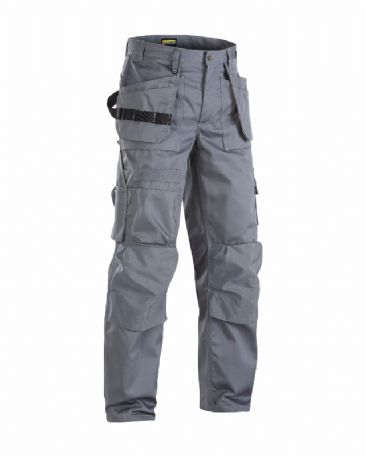 Blaklader 1532 65% Polyester/35% Cotton Trousers (Grey)
